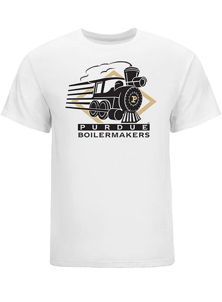 Purdue Vintage Train Logo T-Shirt, Click to See Larger Image