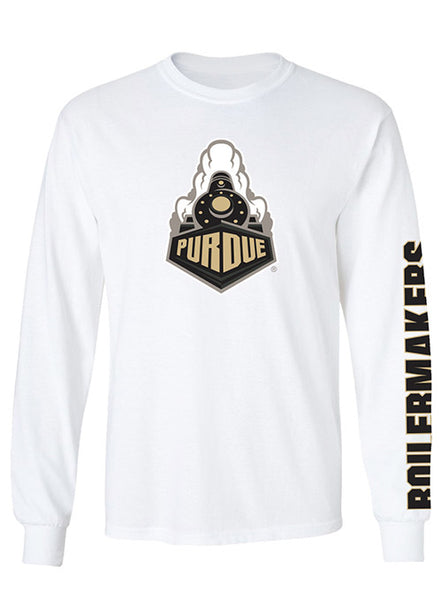 Purdue Boilermakers Long Sleeve T-Shirt, Click to See Larger Image