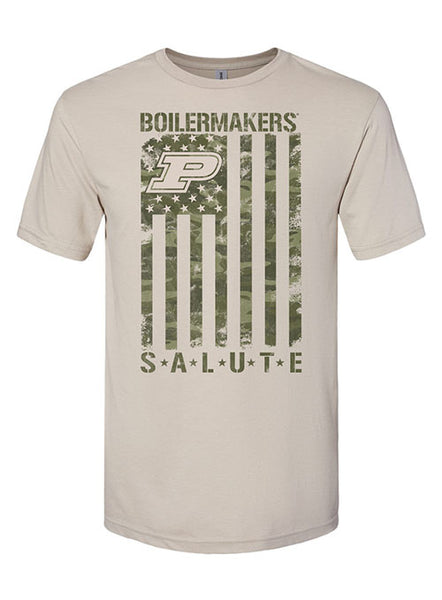 Purdue Boilermakers Salute T-Shirt, Click to See Larger Image