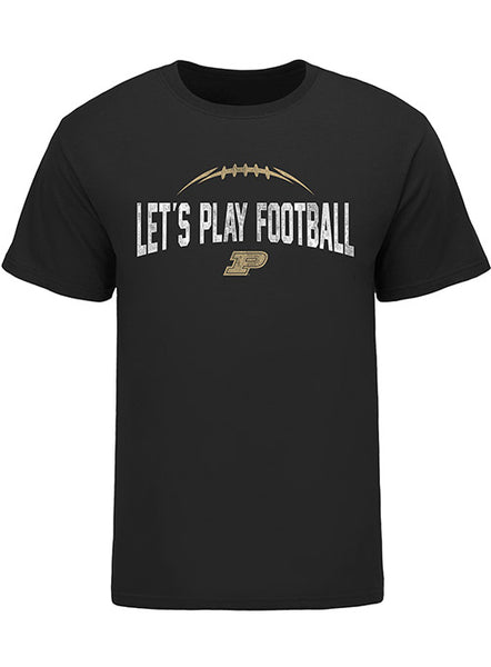 Purdue Let's Play Football T-Shirt, Click to See Larger Image