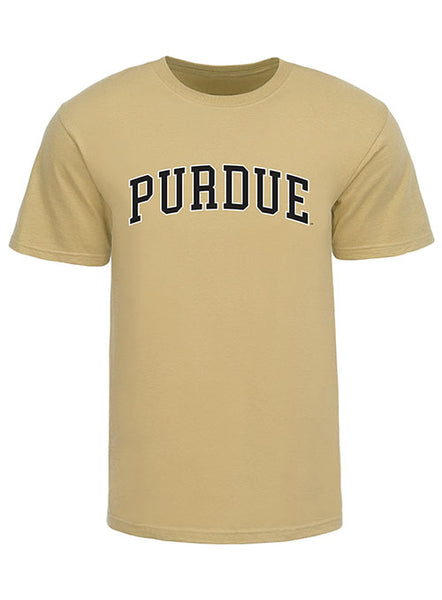 Purdue Arch Wordmark Logo T-Shirt, Click to See Larger Image