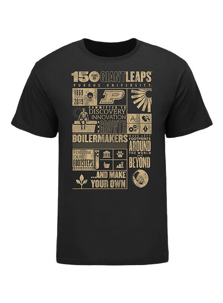 Youth Purdue 150th Anniversary T-Shirt, Click to See Larger Image