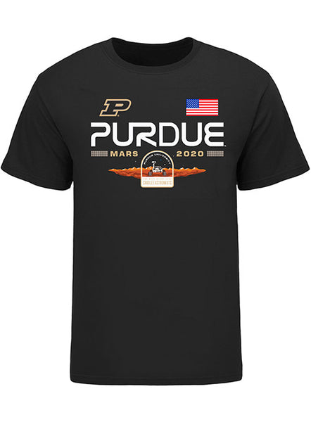 Purdue Mars Mission Rover Crest T-Shirt, Click to See Larger Image