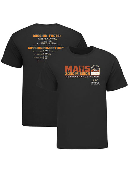 Purdue Mars Mission Reignite T-Shirt, Click to See Larger Image
