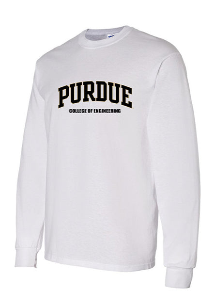 Purdue  College of Engineering Long Sleeve T-Shirt, Click to See Larger Image