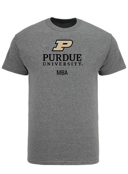 Purdue Krannert School of Management MBA Program Short Sleeve T-Shirt, Click to See Larger Image