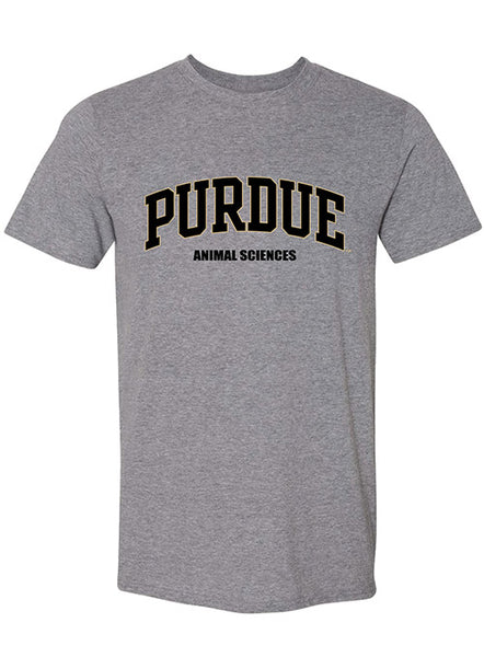 Purdue Animal Sciences T-Shirt, Click to See Larger Image