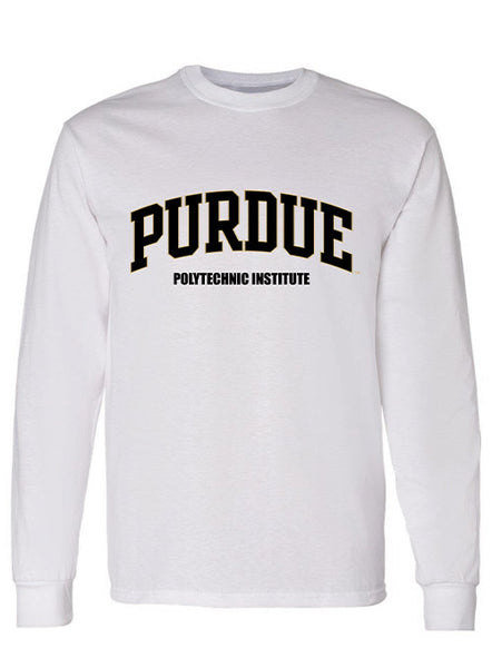 Purdue Polytechnic Institute Long Sleeve T-Shirt, Click to See Larger Image