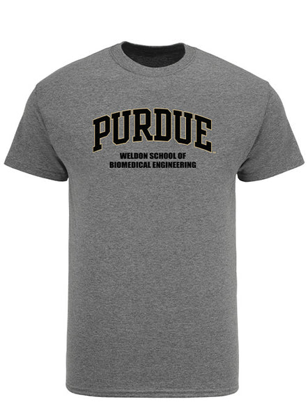 Purdue Weldon School of Biomedical Engineering T-Shirt, Click to See Larger Image