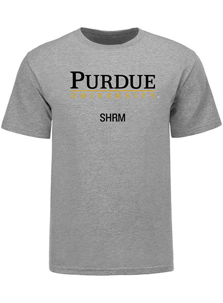 Purdue Krannert School of Management SHRM Program T-Shirt, Click to See Larger Image