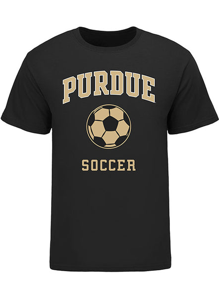 Purdue Classic Collegiate Soccer T-Shirt, Click to See Larger Image