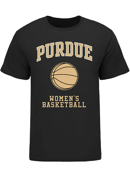 Purdue Classic Collegiate Women's Basketball T-Shirt, Click to See Larger Image