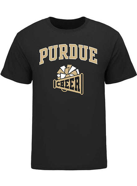 Purdue Classic Collegiate Cheer T-Shirt, Click to See Larger Image