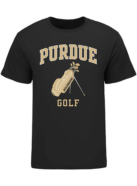 Purdue Classic Collegiate Golf T-Shirt, Click to See Larger Image