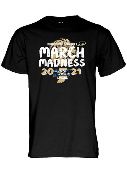Purdue 2021 March Madness T-Shirt, Click to See Larger Image