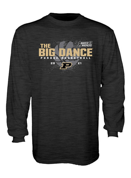 Purdue 2021 March Madness Long Sleeve T-Shirt, Click to See Larger Image