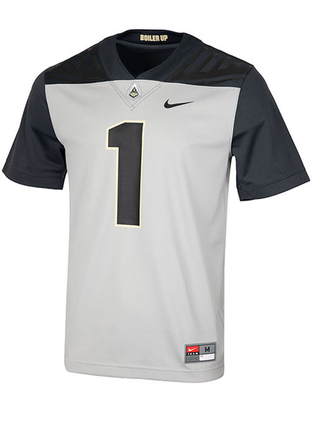 Purdue Nike #1 Football Jersey, Click to See Larger Image