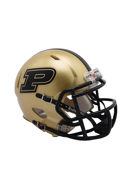 Purdue Riddell Speed Mini Helmet, Click to See Larger Image