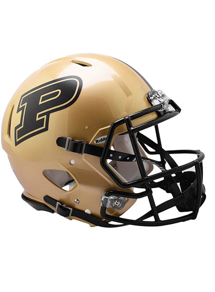 Purdue Riddell Speed Authentic Helmet, Click to See Larger Image