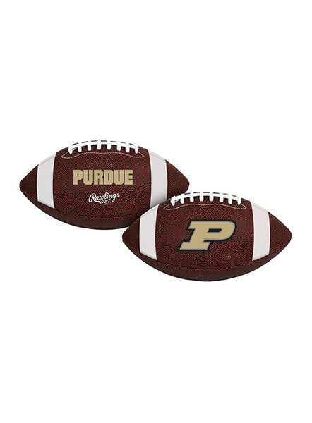 Purdue Air-It-Out Youth Size Football, Click to See Larger Image
