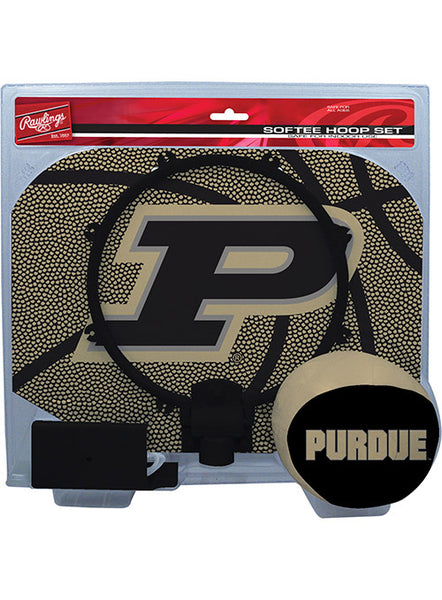 Purdue Slam Dunk Softee Hoop Set