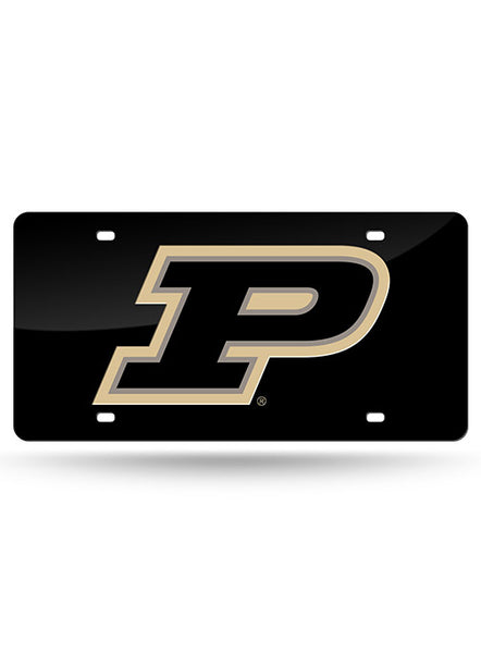 Purdue Laser-Cut License Plate, Click to See Larger Image