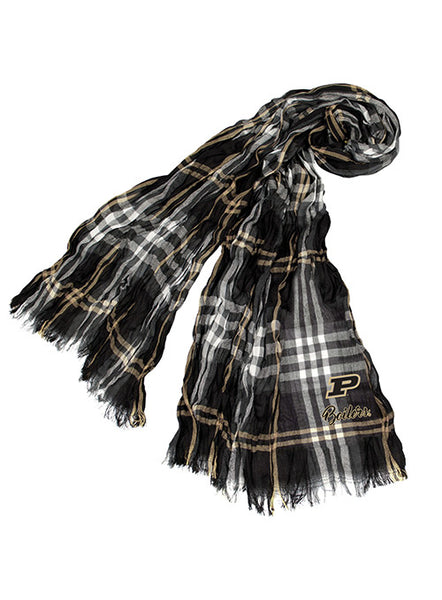 Purdue Crinkle Scarf, Click to See Larger Image