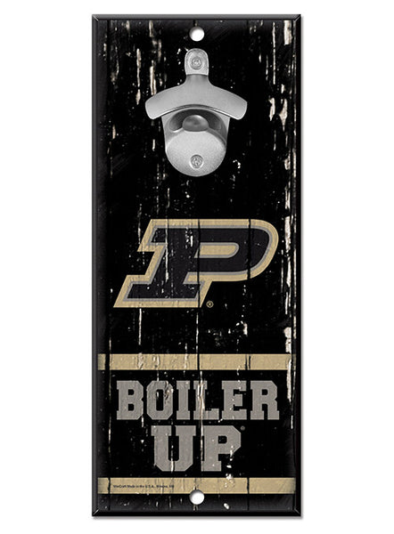 Purdue Bottle Opener Sign, Click to See Larger Image