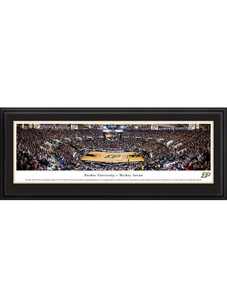 Purdue Mackey Arena Deluxe Framed Panorama Print, Click to See Larger Image