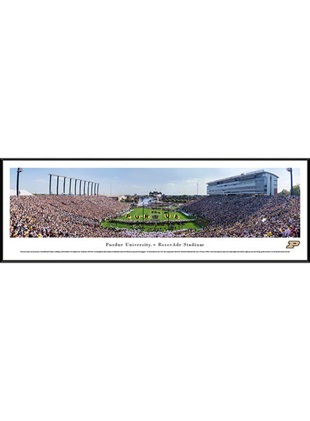 Purdue Ross-Ade Stadium Framed Panorama Print, Click to See Larger Image
