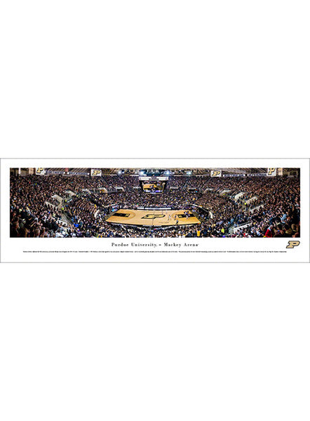 Purdue Mackey Arena Panorama Print, Click to See Larger Image
