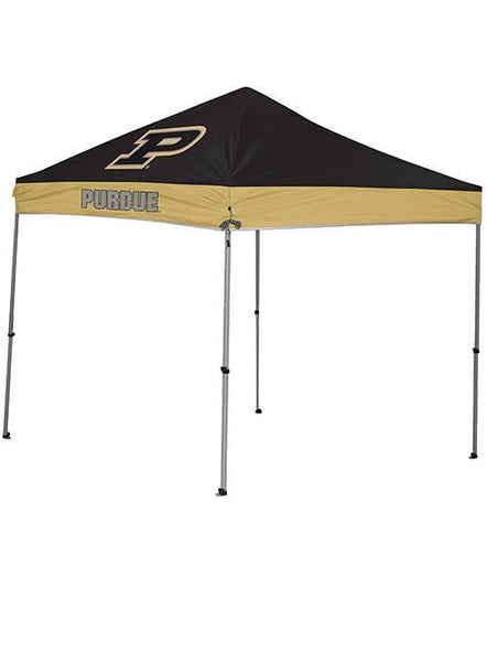 Purdue 9' x 9' Straight Leg Tailgate Tent, Click to See Larger Image