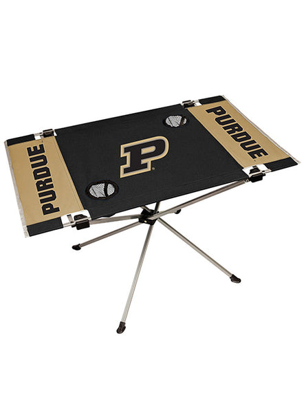 Purdue Endzone Tailgate Table, Click to See Larger Image