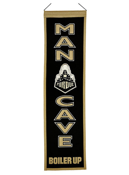 Purdue Man Cave Banner, Click to See Larger Image
