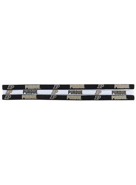 Purdue Elastic Headbands, Click to See Larger Image