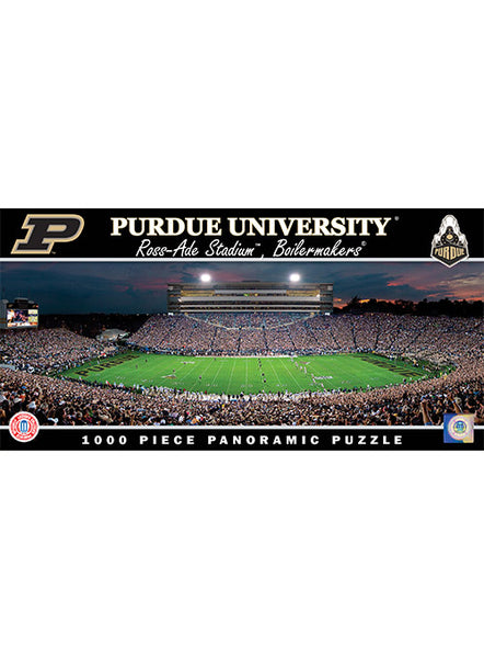Purdue Ross-Ade Stadium 1000 Piece Puzzle, Click to See Larger Image