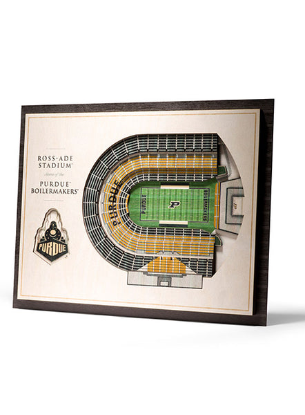 Purdue Ross-Ade Stadium View Wall Art, Click to See Larger Image