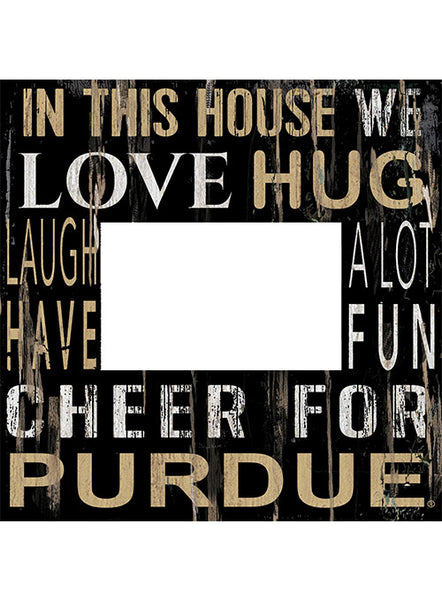Purdue In This House Photo Frame, Click to See Larger Image