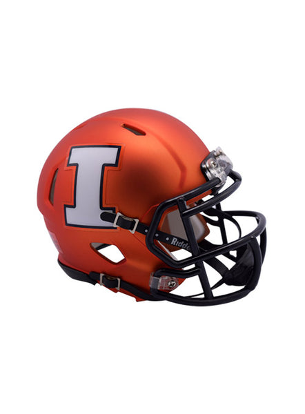Illinois Riddell Speed Mini Helmet, Click to See Larger Image