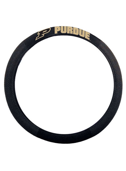 Purdue Steering Wheel Cover, Click to See Larger Image