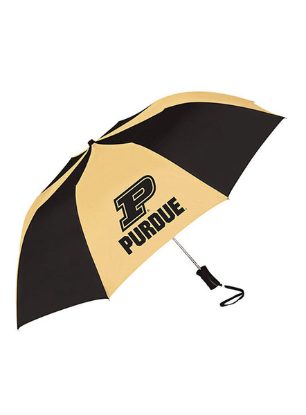 Purdue Folding Umbrella, Click to See Larger Image