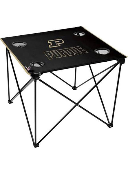 Purdue Deluxe Tailgate Table, Click to See Larger Image
