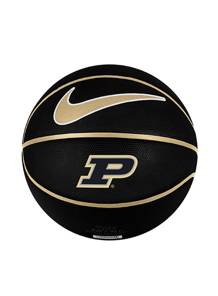 Purdue Nike Full Size Rubber Basketball, Click to See Larger Image