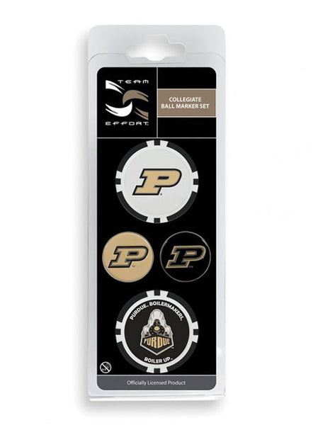 Purdue Golf Ball Marker Set, Click to See Larger Image
