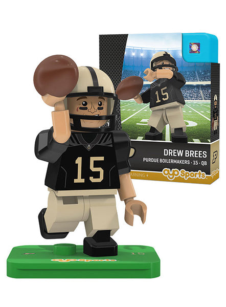 Purdue OYO Mini Drew Brees Figurine, Click to See Larger Image