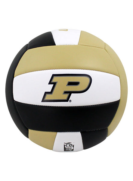 Purdue Tri-Color Volleyball, Click to See Larger Image