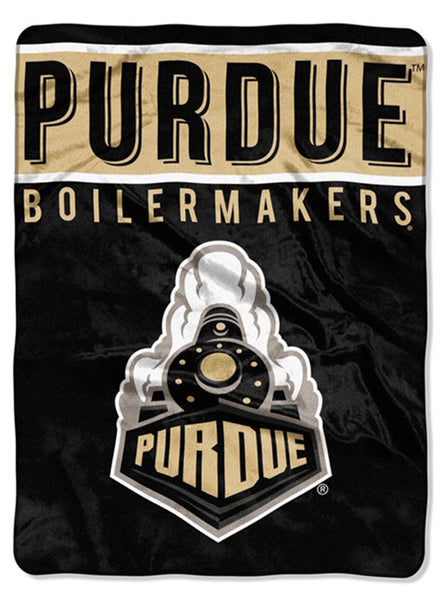 Purdue Raschel Blanket, Click to See Larger Image