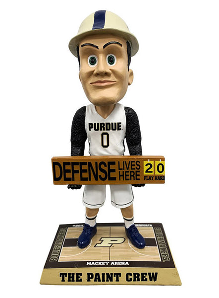Purdue Pete Paint Crew Bobblehead, Click to See Larger Image