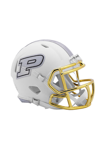 Purdue Riddell Moon Walk Speed Mini Helmet, Click to See Larger Image