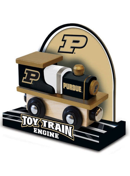 Purdue Toy Train Engine, Click to See Larger Image